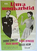 The Tender Trap 1956 poster Frank Sinatra