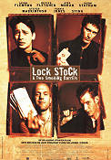 Lock Stock and Two Smoking Barrels 1998 poster Vinnie Jones Guy Ritchie