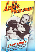 Loffe blir polis 1950 Movie poster Elof Ahrle