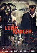 The Lone Ranger 2013 poster Johnny Depp Gore Verbinski