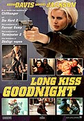 Long Kiss Goodnight 1996 poster Geena Davis Renny Harlin