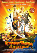 Looney Tunes Back in Action 2003 poster Brendan Fraser