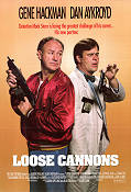 Loose Cannons 1990 Movie poster Dan Aykroyd Bob Clark
