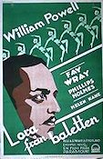 Pointed Heels 1929 Movie poster William Powell