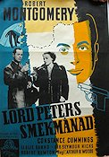 Lord Peters smekmånad 1941 poster Robert Montgomery