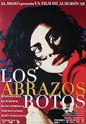 Los abrazos rotos 2009 Movie poster Penelope Cruz Pedro Almodovar