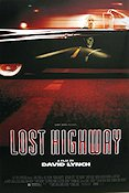 Lost Highway 1997 Movie poster Bill Pullman David Lynch