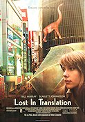 Lost in Translation 2003 Movie poster Scarlett Johansson Sofia Coppola