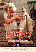 Lotta flyttar hemifr�n 1993 Movie poster Johanna Hald
