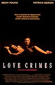 Love Crimes 1991 Movie poster Sean Young