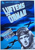 12 O'clock High 1950 poster Gregory Peck
