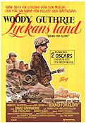 Bound For Glory 1977 Movie poster Woody Guthrie