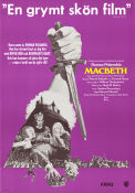 The Tragedy of Macbeth 1972 poster Jon Finch Roman Polanski