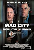 Mad City 1997 poster Dustin Hoffman Costa-Gavras