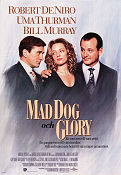 Mad Dog and Glory 1992 poster Robert De Niro John McNaughton
