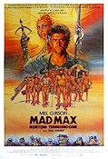 Mad Max Beyond Thunderdome 1985 poster Mel Gibson George Miller