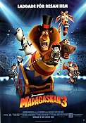 Madagaskar 3 2012 Movie poster