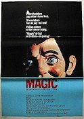 Magic 1979 Movie poster Anthony Hopkins Richard Attenborough