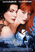 Practical Magic 1998 poster Sandra Bullock Griffin Dunne