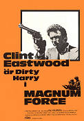 Magnum Force 1973 movie poster Clint Eastwood