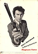 Magnum Force 1973 Clint Eastwood Dirty Harry