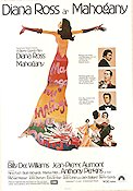 Mahogany 1976 Movie poster Diana Ross