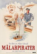 M�larpirater 1987 Movie poster Allan Edwall