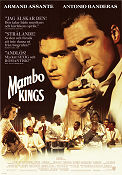 The Mambo Kings 1992 Movie poster Antonio Banderas