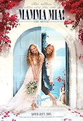 Mamma Mia the Movie 2008 Movie poster Meryl Streep