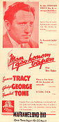 They Gave Him a Gun 1937 poster Spencer Tracy WS Van Dyke