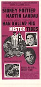 They Call Me Mister Tibbs 1970 movie poster Sidney Poitier