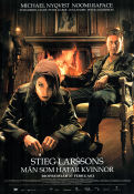 Movie Poster The Girl With the Dragon Tattoo 2009 Noomi Rapace