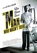 The Man Who Wasn't There 2002 poster Billy Bob Thornton Joel Ethan Coen