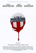The Manchurian Candidate 2004 Movie poster Denzel Washington
