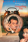 Groundhog Day 1992 Movie poster Bill Murray Harold Ramis