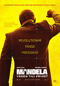 Mandela Long Walk to Freedom 2013 poster Idris Elba Justin Chadwick