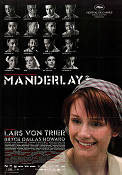 Manderlay 2005 Movie poster Bryce Dallas Howard Lars von Trier