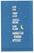 Manhattan Murder Mystery 1993 Movie poster Diane Keaton Woody Allen