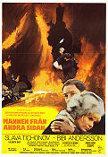 Mannen fr�n andra sidan 1972 Movie poster Bibi Andersson