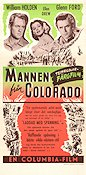 The Man From Colorado 1948 poster William Holden