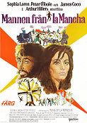Man of La Mancha 1973 Movie poster Sophia Loren