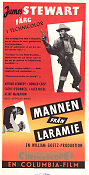 The Man from Laramie 1955 poster James Stewart Anthony Mann
