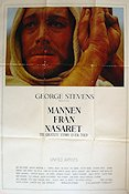 The Greatest Story Ever Told 1965 Movie poster Max von Sydow