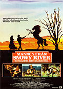 The Man from Snowy River 1982 Movie poster Kirk Douglas