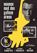 The Man with the Golden Arm 1956 Movie poster Frank Sinatra Otto Preminger