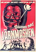 The Man in the Iron Mask 1939 Movie poster Louis Hayward