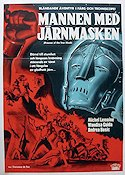 Prisoner of the Iron Mask 1962 poster Michel Lemoine