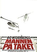 The Man On the Roof 1977 poster Carl-Gustaf Lindstedt Bo Widerberg