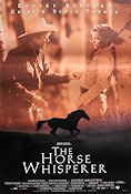 The Horse Whisperer 1998 Movie poster Robert Redford