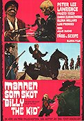 Mannen som sköt Billy the Kid 1968 poster Peter Lee Lawrence